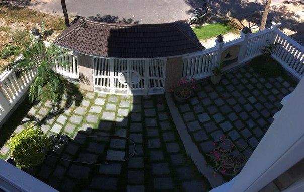 двор виллы в нячанге для аренды