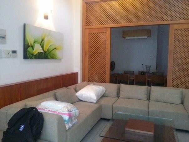 фото гостинной и столовой - аренда дома в Нячанге фото